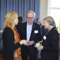 Kristina Sparreljung (Hjärt-Lungfonden), Olle Stendahl (Linköpings universitet, Vice ordförande Forska!Sverige) och Ursula Tengelin (Gaia Leadership)