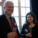 Mikael Arthursson (C) och Tina Acketoft (FP)
