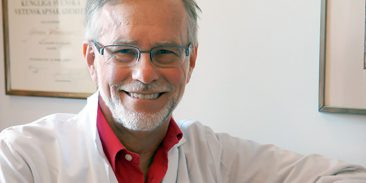 H.M. Konungens medalj till professor Göran K. Hansson