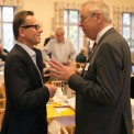 Roger Juhlin, medicinsk chef MSD och Mats Odell, riksdagsledamot KD