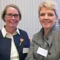 Ingrid Lundberg, professor i reumatologi KI och Soffia Gudbjörnsdottir, ansvarig Nationella Diabetesregistret