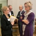Karin Markides, rektor Chalmers tekniska högskola och Carola Lemne, VD Praktikertjänst