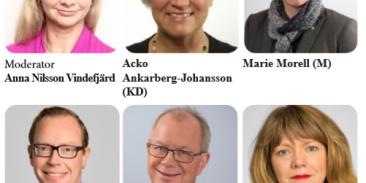 Forska!Sverige modererar politikerpanel på FOKUS Patient