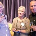 Ingrid Kössler, fd ordförande BRO, Maria Areskoug, ordförande BCF Johanna och Pelle Johansson, riksförbundet Hjärt-Lung