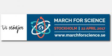 March for Science i Stockholm – en gemensam röst för forskning