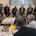 Paneldebatt med L Hallengren (S), M Arthursson (C), A Börjesson (MP), H Rothenberg (M), M Odell (KD), T Acketoft (FP)